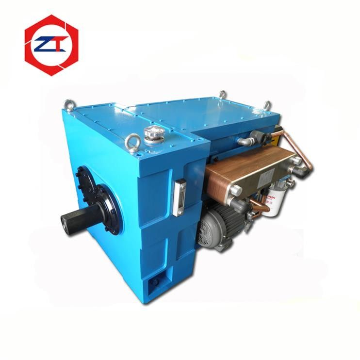 Forced Lubrication Twin Screw Gearbox , Feed Pellet Machine Gearbox 1084*420*452mm Size